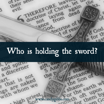 Who is holding the sword? Part One