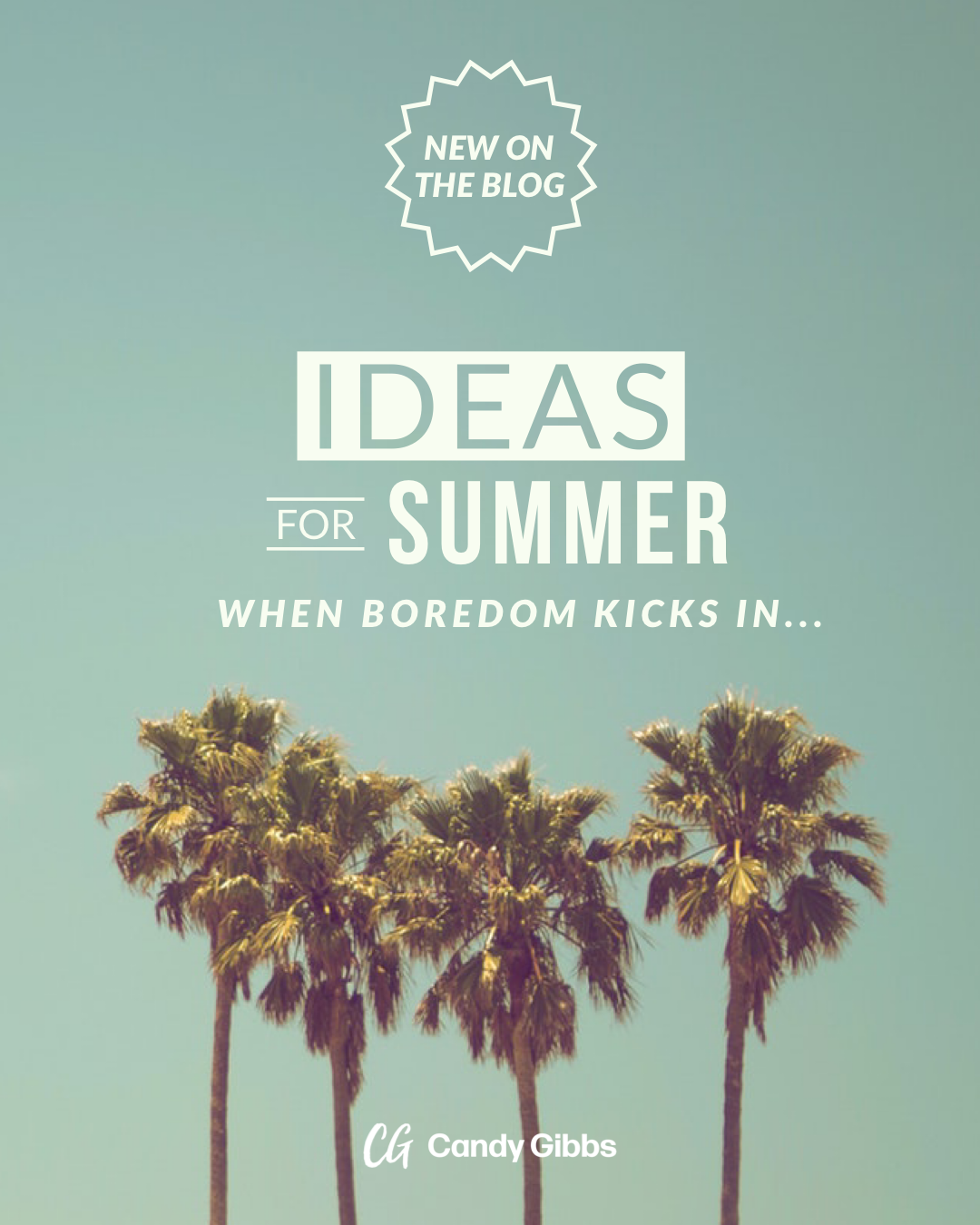 Summer Ideas Graphic