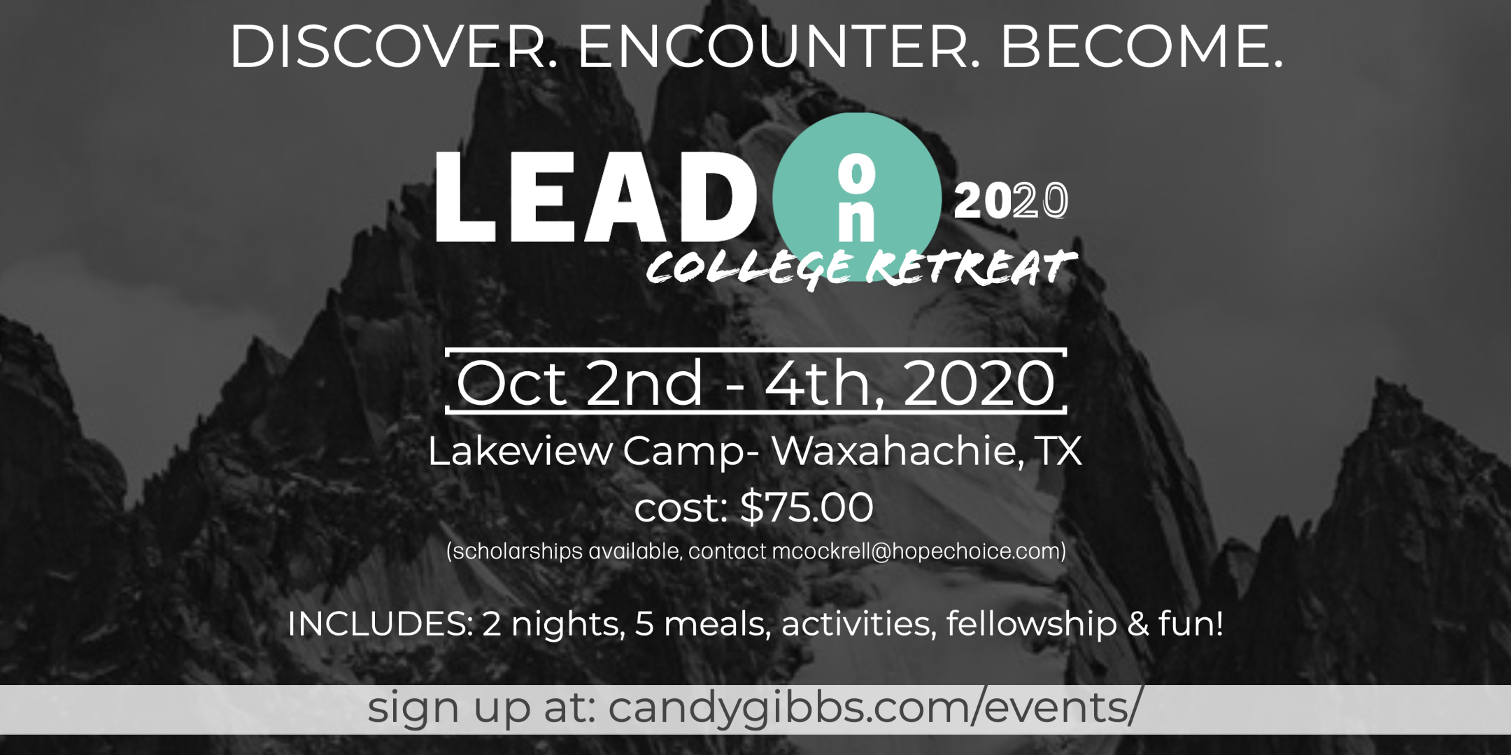 College Retreat- Fall 2020-2