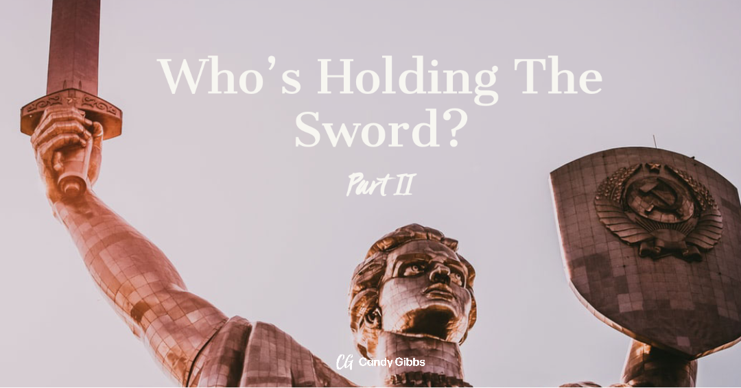 Who's holding the sword part 2