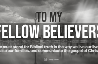 Blog- To My Fellow Believers